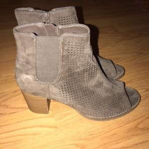 Open Toe Jorè Booties